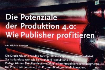 Potentiale der Produktion 4.0: Wie Publisher profitieren