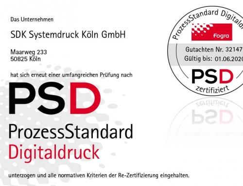 PSD-Zertifizierung