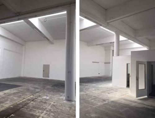 Neue Halle – Neue Parkplätze